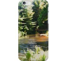a lazy summer day iPhone Case/Skin