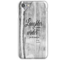 Winter Les Miserables iPhone Case/Skin