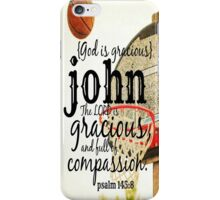 John gracious iPhone Case/Skin