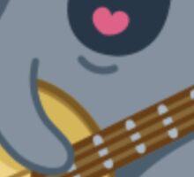 Cat, meet Banjo. Banjo, meet Cat. Sticker