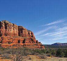 Courthouse Rock & Pine Valley  •  Sedona, Arizona by Richard  Leon