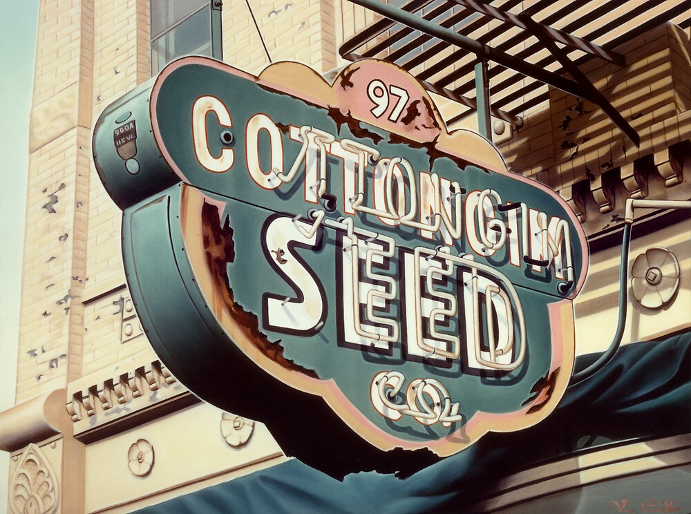 CottonGim Seed by Van Cordle