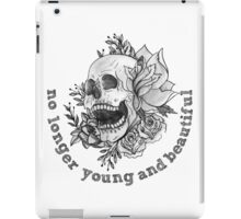 young and beautiful iPad Case/Skin
