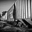 Train Cars by Scott Ward