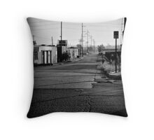 Another Lonely Street Throw Pillow