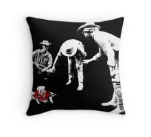 """""""Waiting for the Billy to Boil"""" Throw Pillow"""
