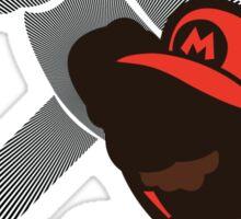 Paper Mario - Sunset Shores Sticker
