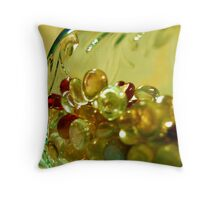 Jewels In a Bottle Throw Pillow