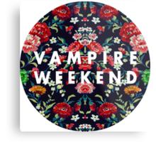Vampire Weekend Mirrored Metal Print