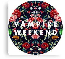 Vampire Weekend Mirrored Canvas Print
