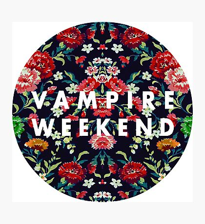 Vampire Weekend Mirrored Photographic Print