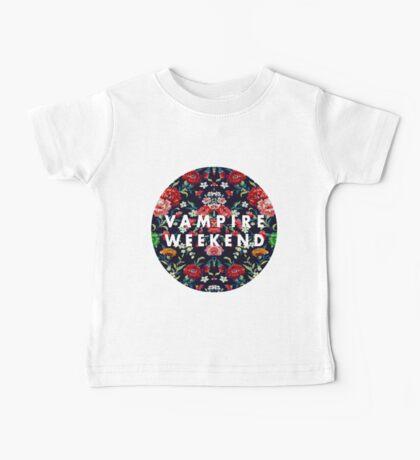 Vampire Weekend Mirrored Baby Tee