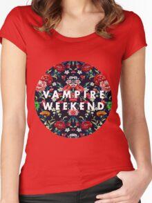 Vampire Weekend Mirrored Women's Fitted Scoop T-Shirt