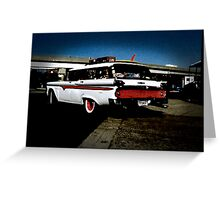 Ford Edsel Greeting Card