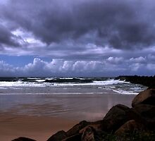 Duranbah Beach  by Nickie