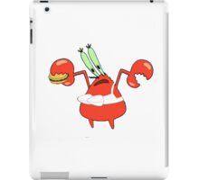 Mr. Krabs in a Bra iPad Case/Skin
