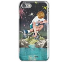 GRAB OVER WATER. iPhone Case/Skin