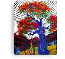 Zen Crane Canvas Print
