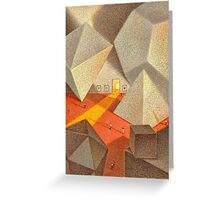 Gallery Scene Greeting Card