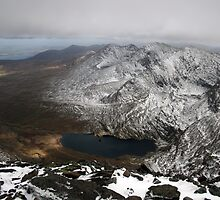 Carrauntoohil winters view by John Quinn