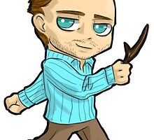 Chibi Garret Jacob Hobbs  by Furiarossa