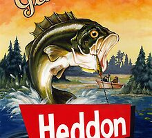 Heddon Lures by Kelly  Gilleran