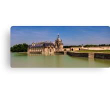 Chateau de Chantilly Canvas Print