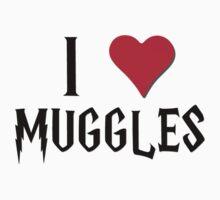 I Heart Muggles Harry Potter  by Bobgoblin32