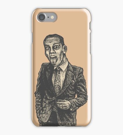 Funny Man iPhone Case/Skin