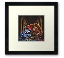 Embalmer's Crest Framed Print