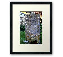Mary Anning.......... Framed Print
