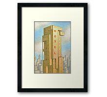 Bauhaus Hotel Framed Print