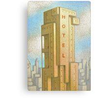 Bauhaus Hotel Metal Print