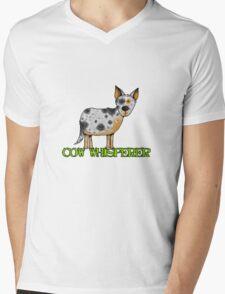 cow whisperer (blue heeler) Mens V-Neck T-Shirt
