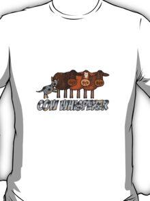 cow whisperer (herding blue heeler) T-Shirt
