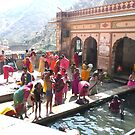 Hanuman Temple, Jaipur - Family Basin by Ratatouille