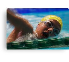 ASA National Age & National Youth Championships  Canvas Print