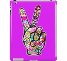Peace Hippie Victory Fingers iPad Case/Skin