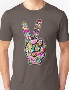 Peace Hippie Victory Fingers T-Shirt