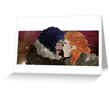 Kissed by Fire Greeting Card