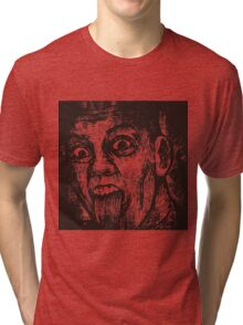 Funny Face Tri-blend T-Shirt