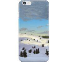 Winter landscape (I) iPhone Case/Skin