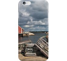 Lobster Traps iPhone Case/Skin
