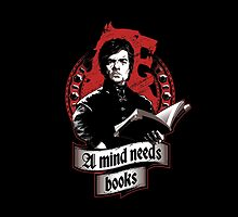 A mind needs books by Inaco