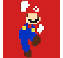 Mario pixel Photographic Print