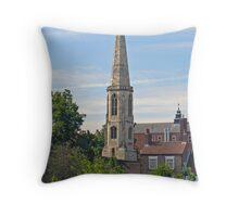 All Saints' North Street Throw Pillow