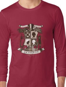 Grantham coat of arms (sepia) Long Sleeve T-Shirt