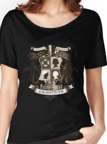 Grantham coat of arms (sepia) Women's Relaxed Fit T-Shirt