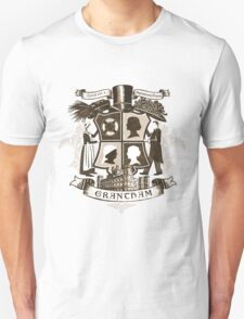 Grantham coat of arms (sepia) Unisex T-Shirt