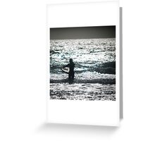 Mellow Surf Greeting Card